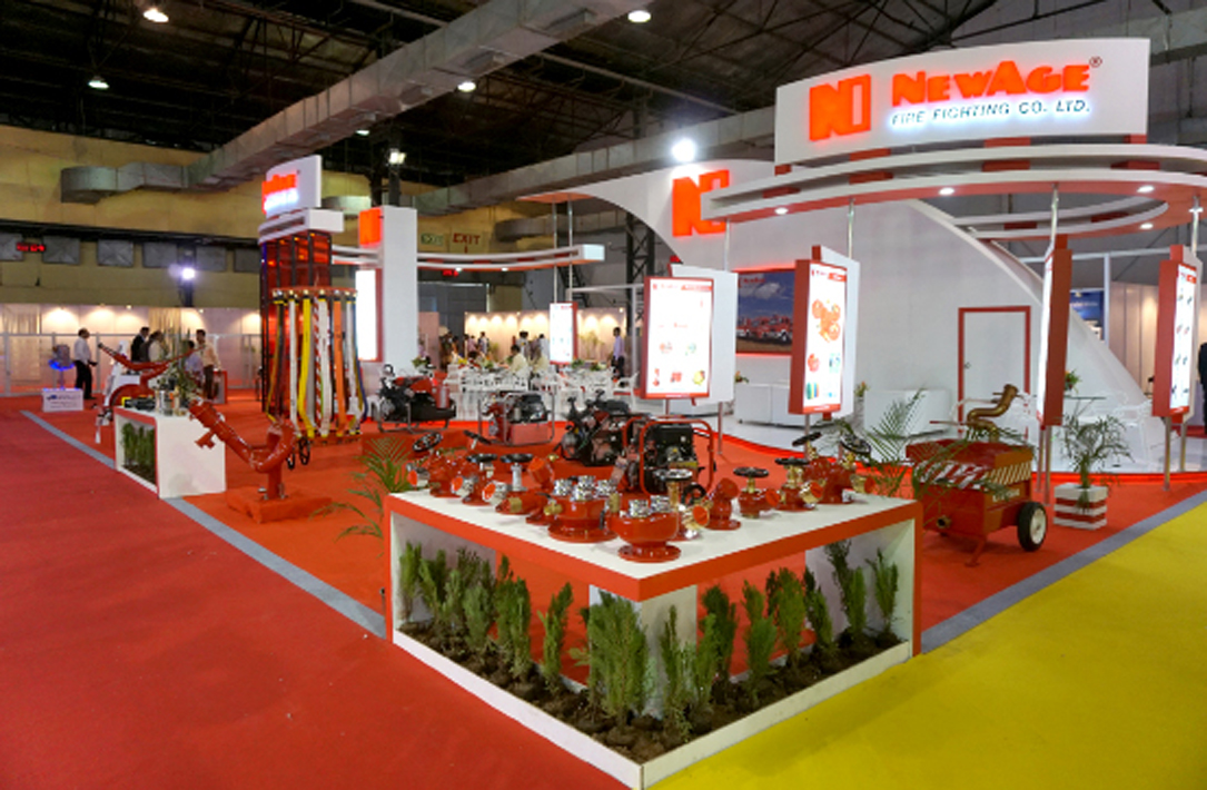 NewAge Stand at Fire & Safety 2016, Mumbai