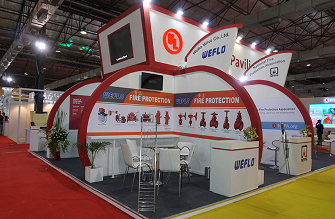 Underwriter Laboratories Stand at Fire & Safety 2016, Mumbai